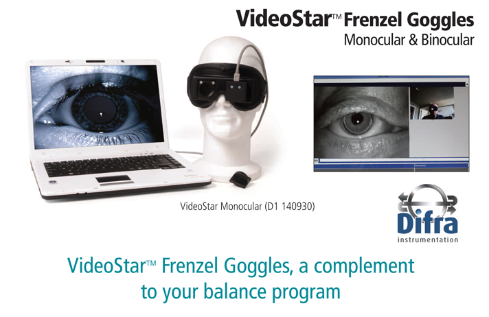 Video Frenzel Goggles