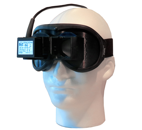 vng equipment, Difra Video Frenzel Goggles, videonystagmography